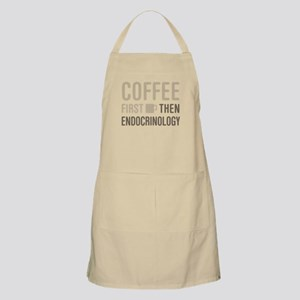 Coffee Then Endocrinology Apron