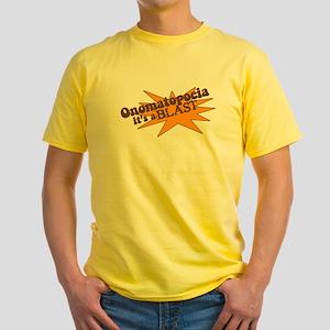 Onomatopoeia is a Blast! T-Shirt