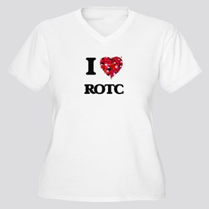 I Love Rotc Plus Size T-Shirt