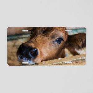 Calf Aluminum License Plate