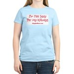 Too Funny Kidneys Women's Light T-Shirt