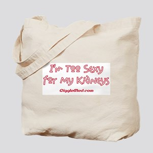 Too Funny Kidneys Tote Bag