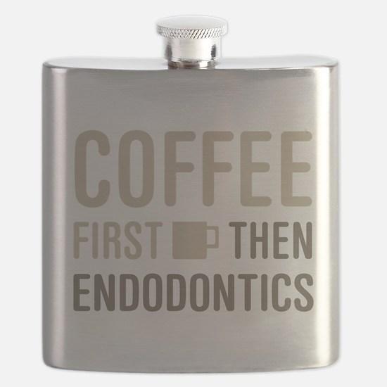 Coffee Then Endodontics Flask