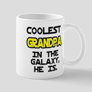 Coolest Grandpa Galaxy He Is Mug