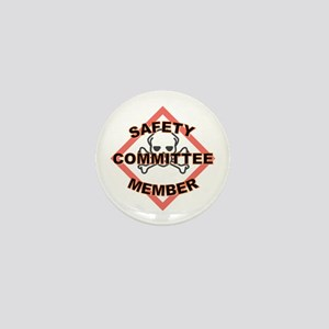 Safety Committee Mini Button