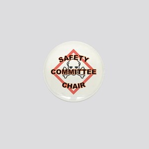 Safety Committee Chairperson Mini Button