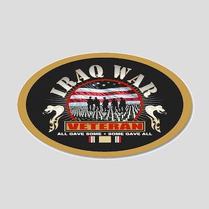 Iraq War Veteran Wall Decal