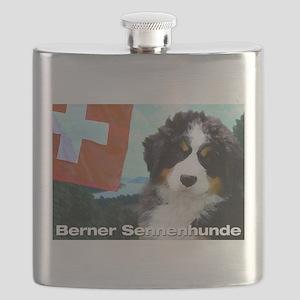 Berner Sennenhunde Flask