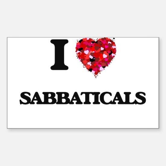 I Love Sabbaticals Decal