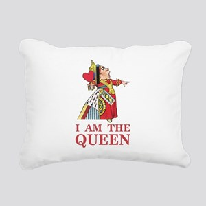 The Queen of Hearts says Rectangular Canvas Pillow