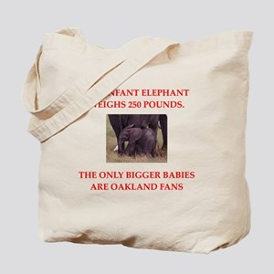 oakland fans Tote Bag