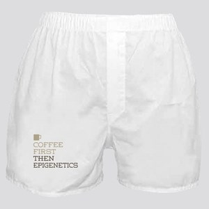 Coffee Then Epigenetics Boxer Shorts