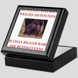 buffalo fans Keepsake Box