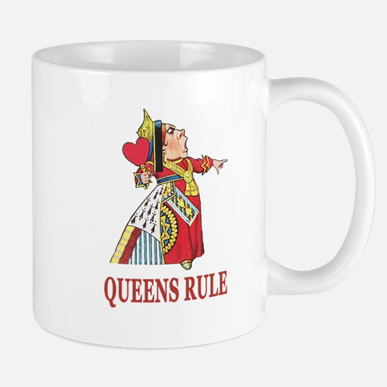 Queens Rule, says the Queen of Hearts Mug
