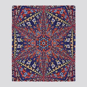 Armenian Carpet Throw Blanket