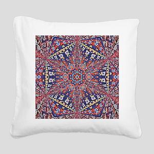 Armenian Carpet Square Canvas Pillow