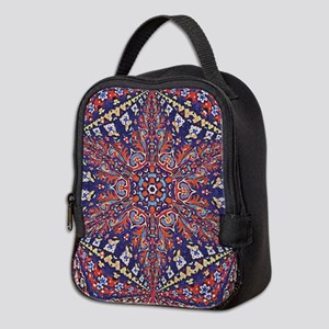 Armenian Carpet Neoprene Lunch Bag