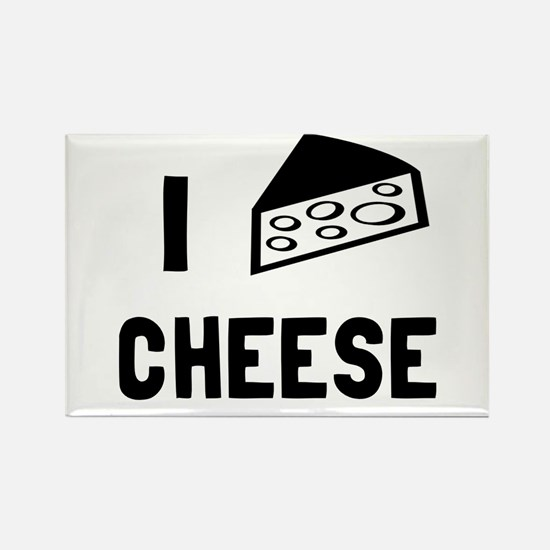 I love cheese Rectangle Magnet
