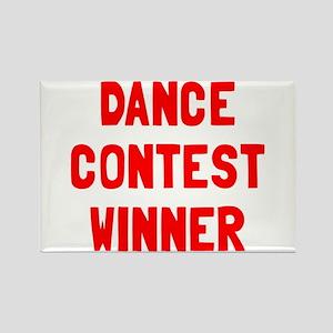Dance contest winner Rectangle Magnet