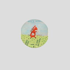 postal Mini Button