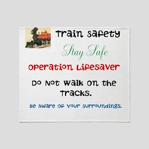 OPERATION LIFESAVER. DWOT. Throw Blanket