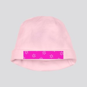 Pink Ribbon Breast Cancer Awareness Edie' baby hat