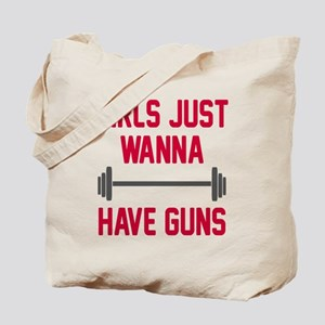 Girls just wanna have guns Tote Bag