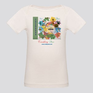 TWINKLING STARS DESIGN. TS,CP Organic Baby T-Shirt