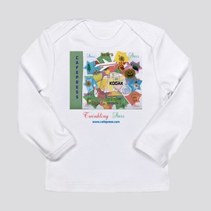 TWINKLING STARS DESIGN. Long Sleeve Infant T-Shirt