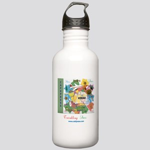 TWINKLING STARS DESIGN Stainless Water Bottle 1.0L