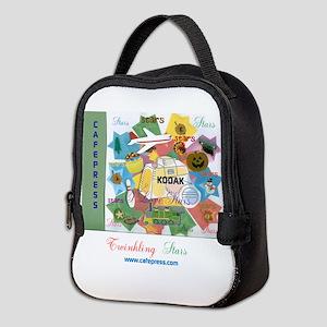 Twinkling Stars Design. Ts,cp. Neoprene Lunch Bag
