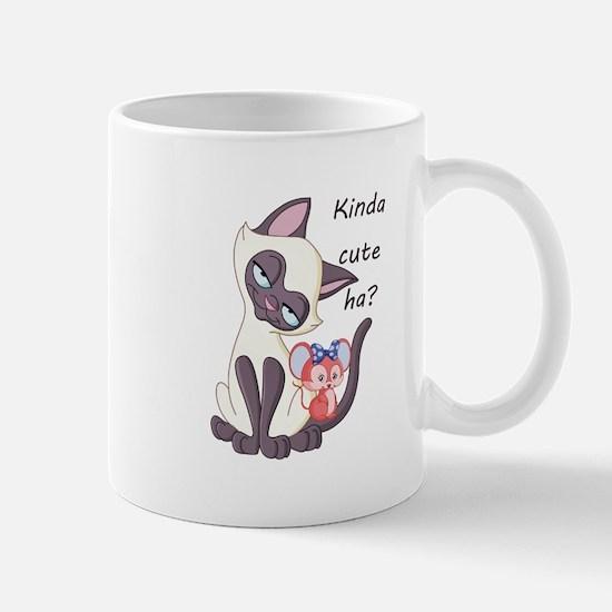 Smitten Siamese - Mug