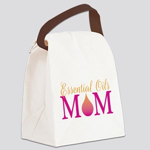 Essential oils Mom pkor Canvas Lunch Bag