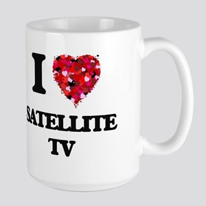 I Love Satellite Tv Mugs
