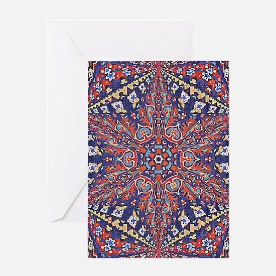 Armenian Carpet Greeting Cards