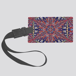 Armenian Carpet Large Luggage Tag