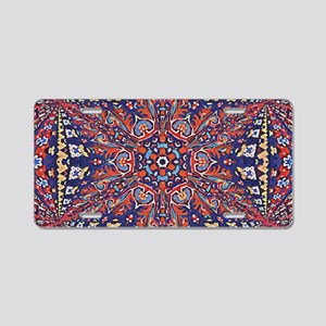 Armenian Carpet Aluminum License Plate