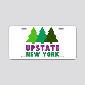 UPSTATE NEW YORK (PINE TREE Aluminum License Plate