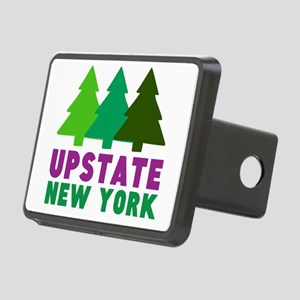 UPSTATE NEW YORK (PINE TRE Rectangular Hitch Cover