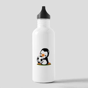 I Love Soccer (5) Stainless Water Bottle 1.0L