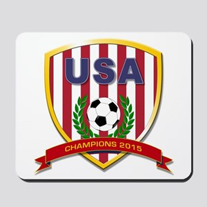 USA Soccer Women 2015 Mousepad