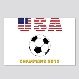 USA Soccer Womens Champions 2015 Postcards (Packag