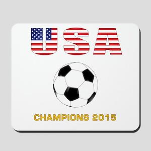 USA Soccer Womens Champions 2015 Mousepad