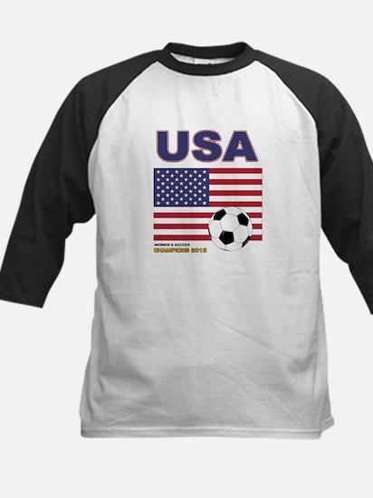 USA Soccer Womens Champions 2015 Baseball Jersey