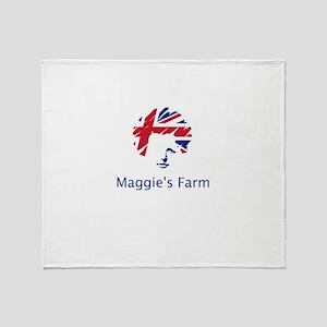 Maggie's Farm Throw Blanket