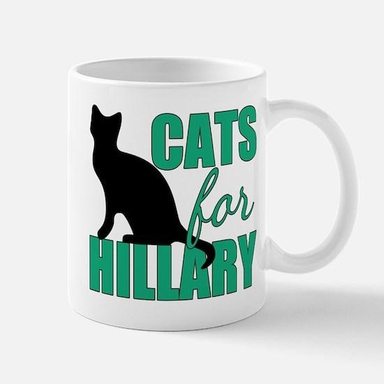 Cats Hillary Clinton Mug