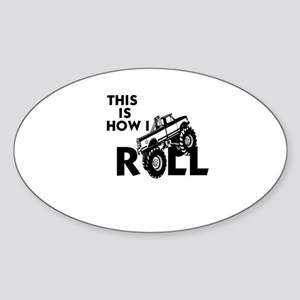 MUD BOG, MUD BOGGING - THIS IS HOWI Sticker (Oval)