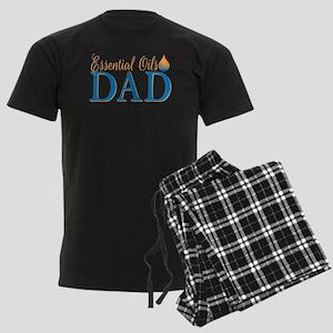 Essential oils dad Men's Dark Pajamas