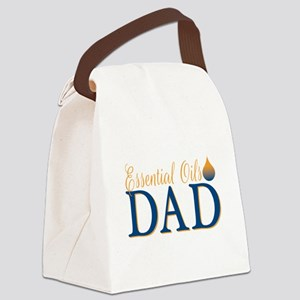 Essential oils dad Canvas Lunch Bag