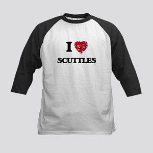 I Love Scuttles Baseball Jersey